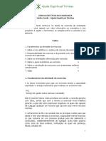 [PDF] Código de ética do exorcista. Isidro Jordá   Ajuda Espiritual Trínitas