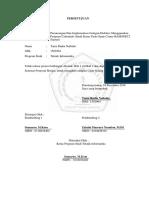 Persetujuan Acc Sempro