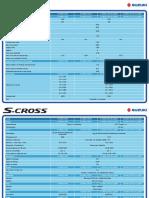 S Cross Comparativo