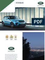 Range Rover Evoque Catalogo 1L5381800000BBRPT01P Tcm300 430233