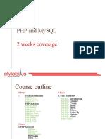 Module 4 Php and Mysql