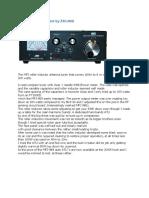 Mfj 969 Atu Test by Zs1jhg
