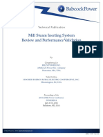 Mill Steam Inerting System Review and Performance Validation