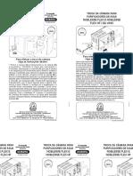 Manual Refil Noblesse Da Vinci