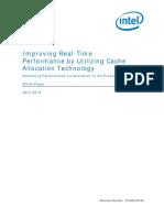 Cache Allocation Technology White Paper