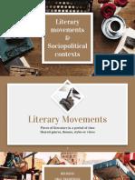Literary Movements and Sociopolitical Contexts 2