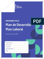 Plan de Desarrollo - Plan Laboral