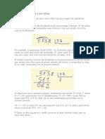 Cómo Dividir de 2 y 3 Cifras