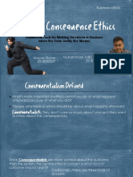 Theories of Consequence Ethics