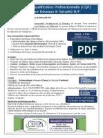 CQP Ingenieur Reseaux Et Securite H_F
