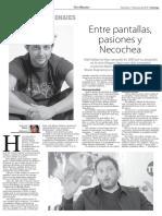 Entrevista al actor Ariel Startari