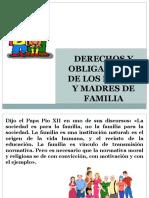 4 Derechos y Obligaciones de Los Padres e Hijos