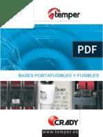 Crady Bases Portafusibles y Fusibles