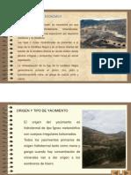 Diapositivas de Yacimiento de Minerales - Malaquita