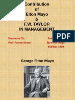 Contribution of Elton Mayo.pptx