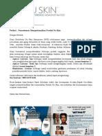 Surat Permohonan Demo Pribadi