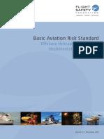 Basic aviation risk standard