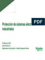 protecciones industriales en redes electricas