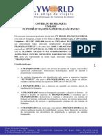 Modelo de Contrato Contrato de Franquia Corrigido