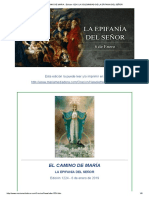 El Camino de Maria . Edicion 1224. La Solemnidad de La Epifania Del Señor