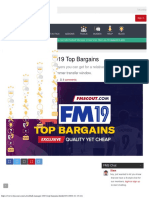 Football Manager 2019 Top Bargains FM Scout