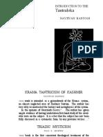 Kashmir Shaivism - Introduction To The Tantraloka (Kashmir Shaivism).pdf