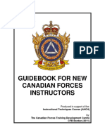 Guidebook for New CAF Instrs 050111