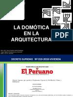 6. Henry Lazarte - Domótica en La Arquitectura