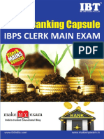 Static Banking Capsule for Ibps Clerk Mains-team Mme-1