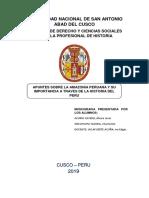 Monografia - Amazonia Peruana