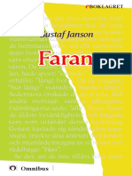 Gustaf Janson - Farava 1909, Senaste Tryckta Utgåva 1926, 226 s. ]