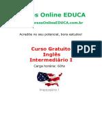 Curso Ingl s Intermedi Rio i Edc 31744