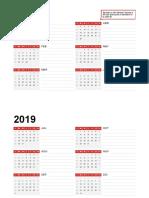 Calendario de Cualquier Año1