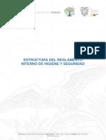 Formato Estructura Reglamento Interno Higiene y Seguridad