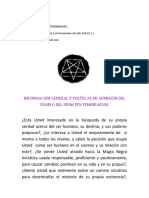 Información General Del Templo Actualizada PDF
