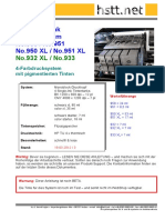 HSTT Refillanleitung Für HP No.950 No.951 - Officejet Pro 8100 8600 EPrinter Serie