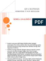 KFA Matriks
