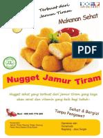 Contoh Brosur Nugget Jamur