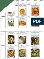 Food plan 1