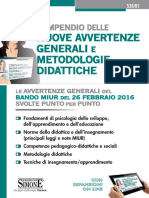Compendio Delle Nuove Avvertenze Generali e Metodologie Didattic (1)