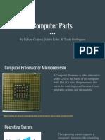 copy of computer parts presentation