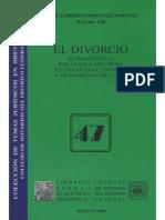 El Divorcio- Su Procedencia Por La Sola Voluntad