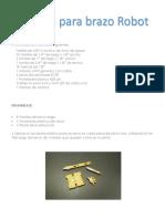 Manual Brazo App-Tek