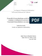 Desarrollo de Una Plataforma Social Móvil Para El Consumo y Evaluación de Servicios d...
