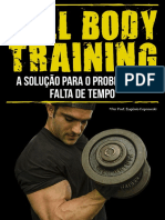 eBook Full Body Training Musculacao Fitness
