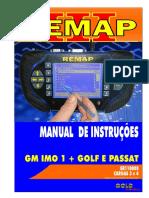 CARGA 3 e 4 - SR110008 - GM  IMO 1 + GOLF E PASSAT-  REMAP III