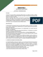 Cuestionario de Derecho Penal i 1 de 2
