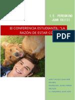 III Conferencia Estudiantil