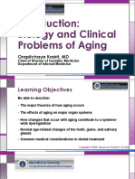 Introduction to Biology and Clinical Problems of Aging
