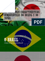 As Principais Características Demográficas Do Brasil e Do